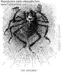 Svengali_in_spider_web._Illustration_by_Georges_DuMaurier_1895